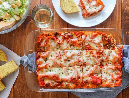Basic meat lasagna recipe