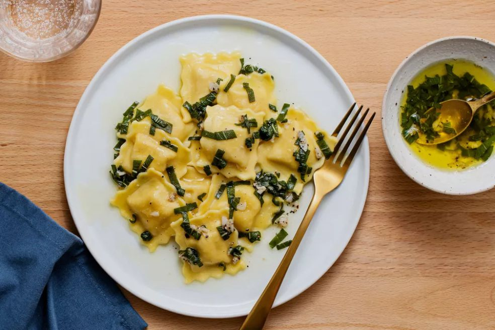 Sage Brown Butter Sauce for Pasta
