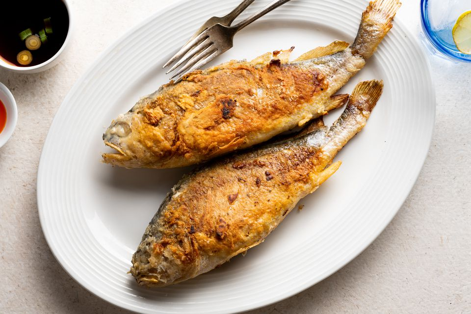 Korean Pan-Fried Whole Fish