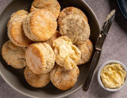 Pennsylvania Dutch Lard Biscuits