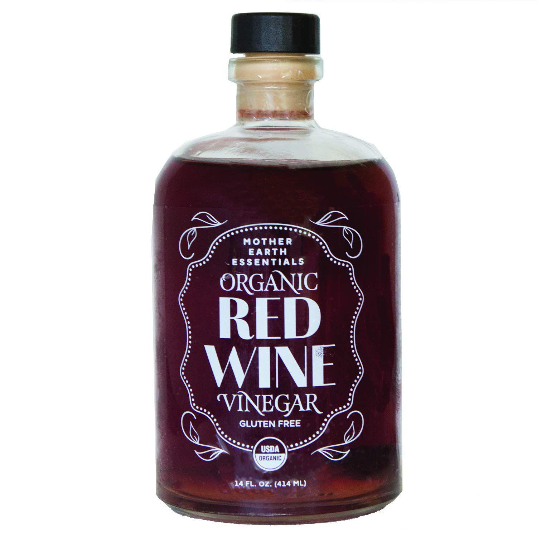 Mother Earth Essentials Organic Red Wine Vinegar