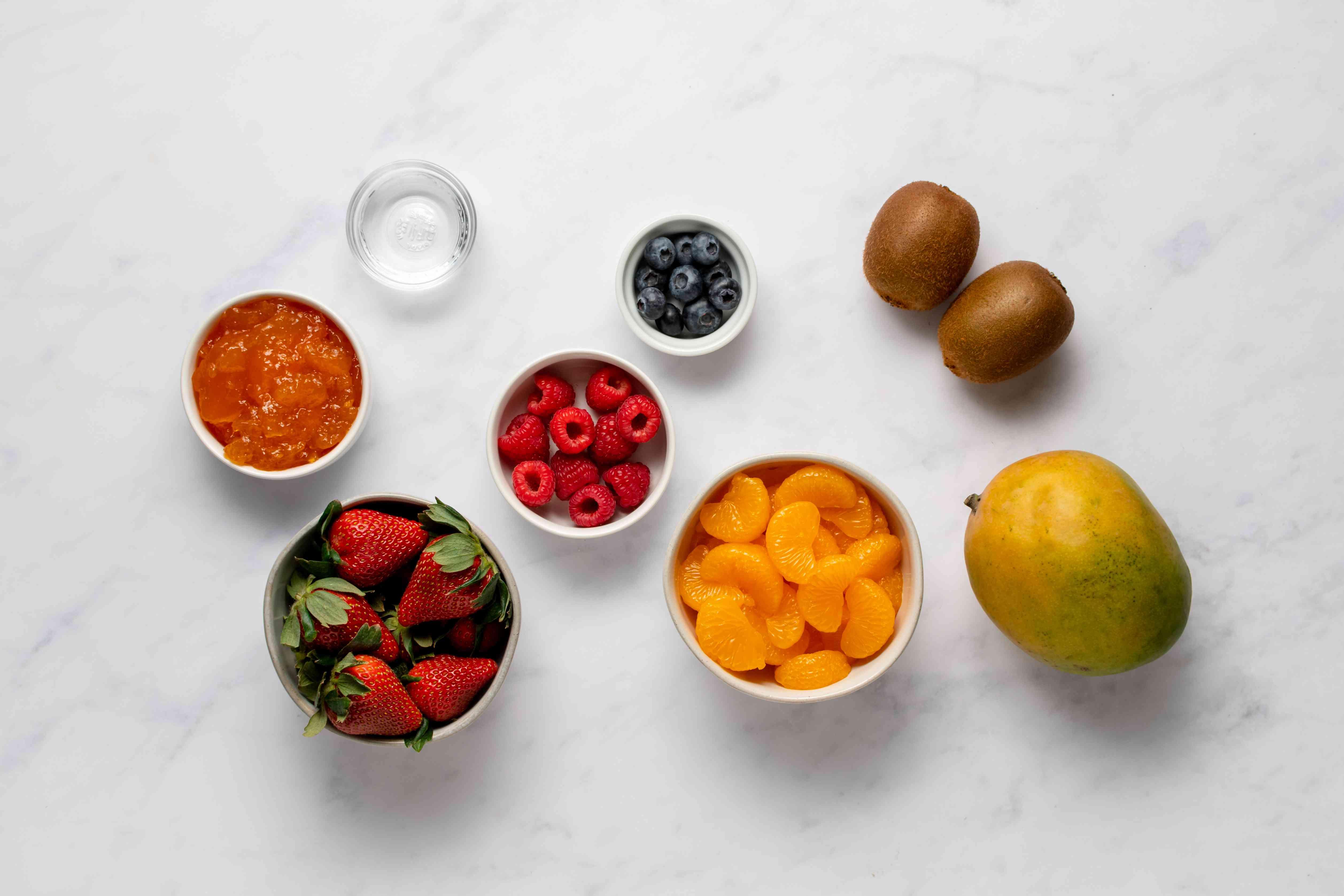 tart glaze ingredients
