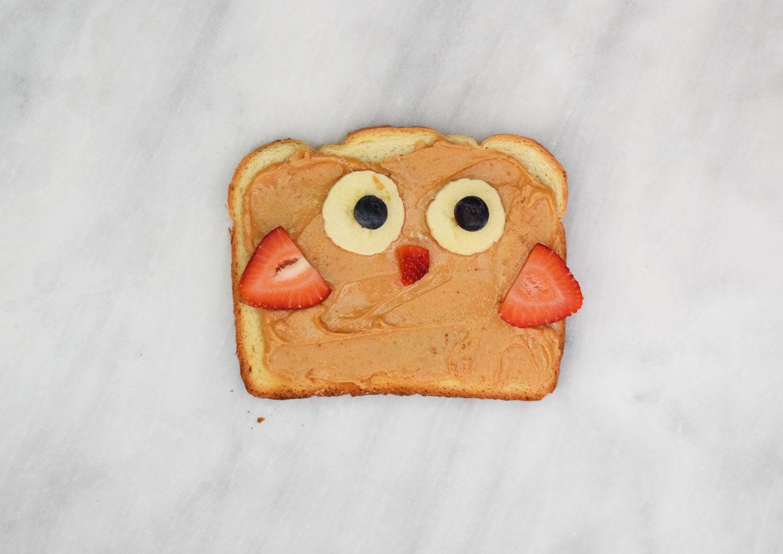 Owl Animal Toast