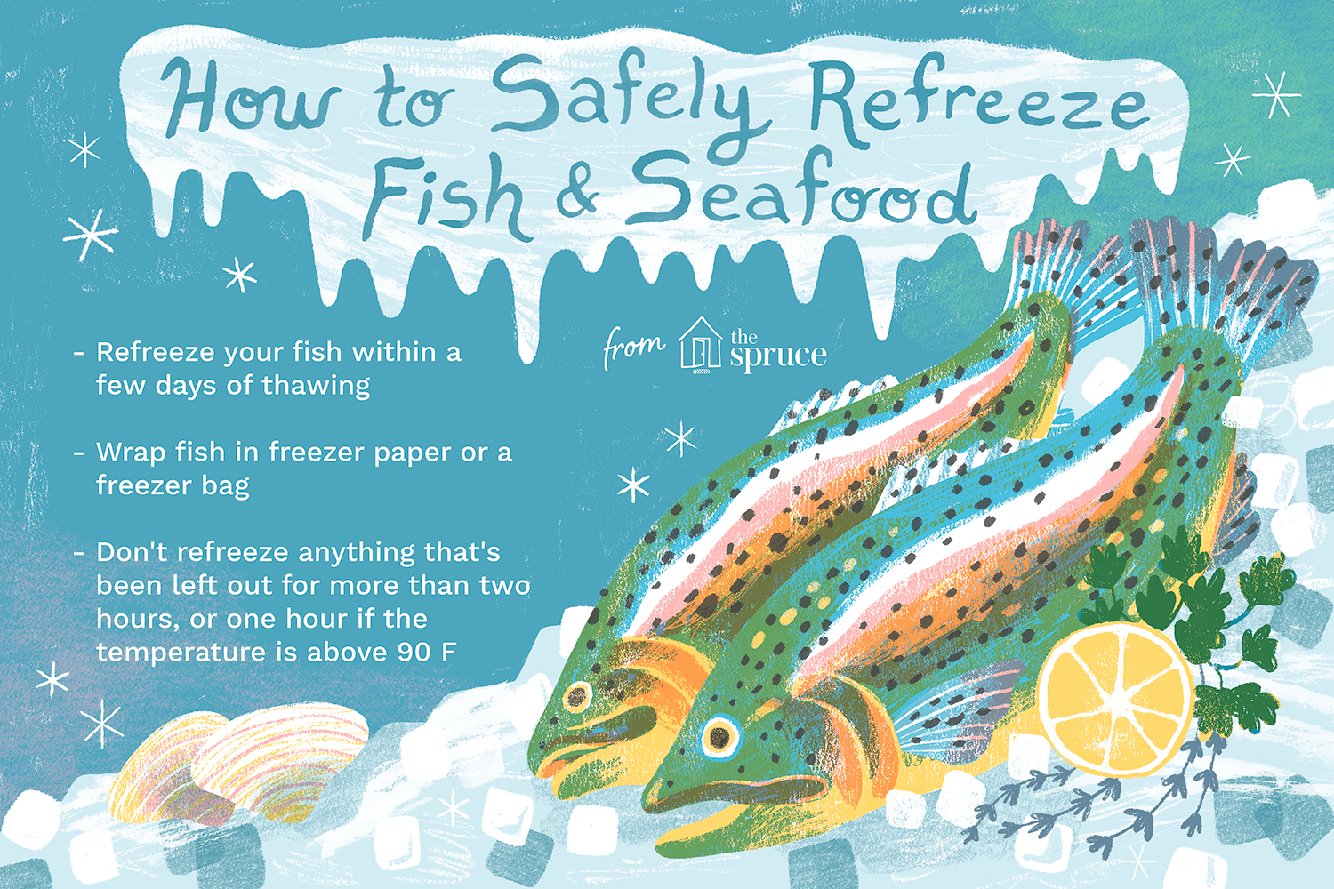 how to refreeze fish