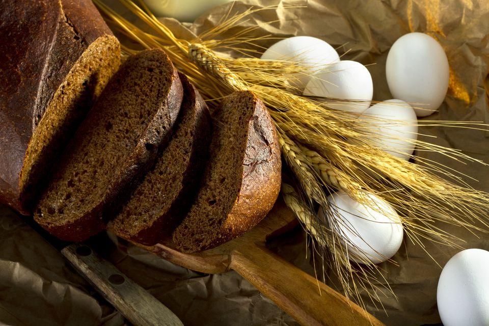 Pan de pan integral de centeno de Bea