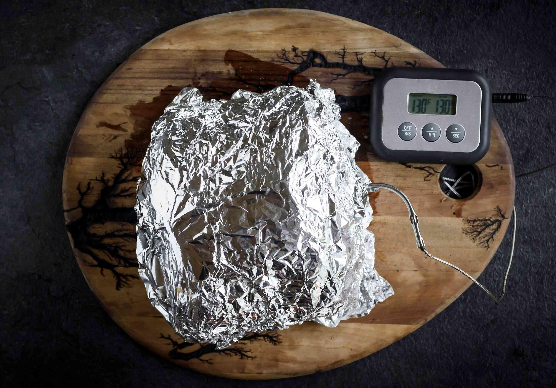 Foil Wrapped Rib Roast