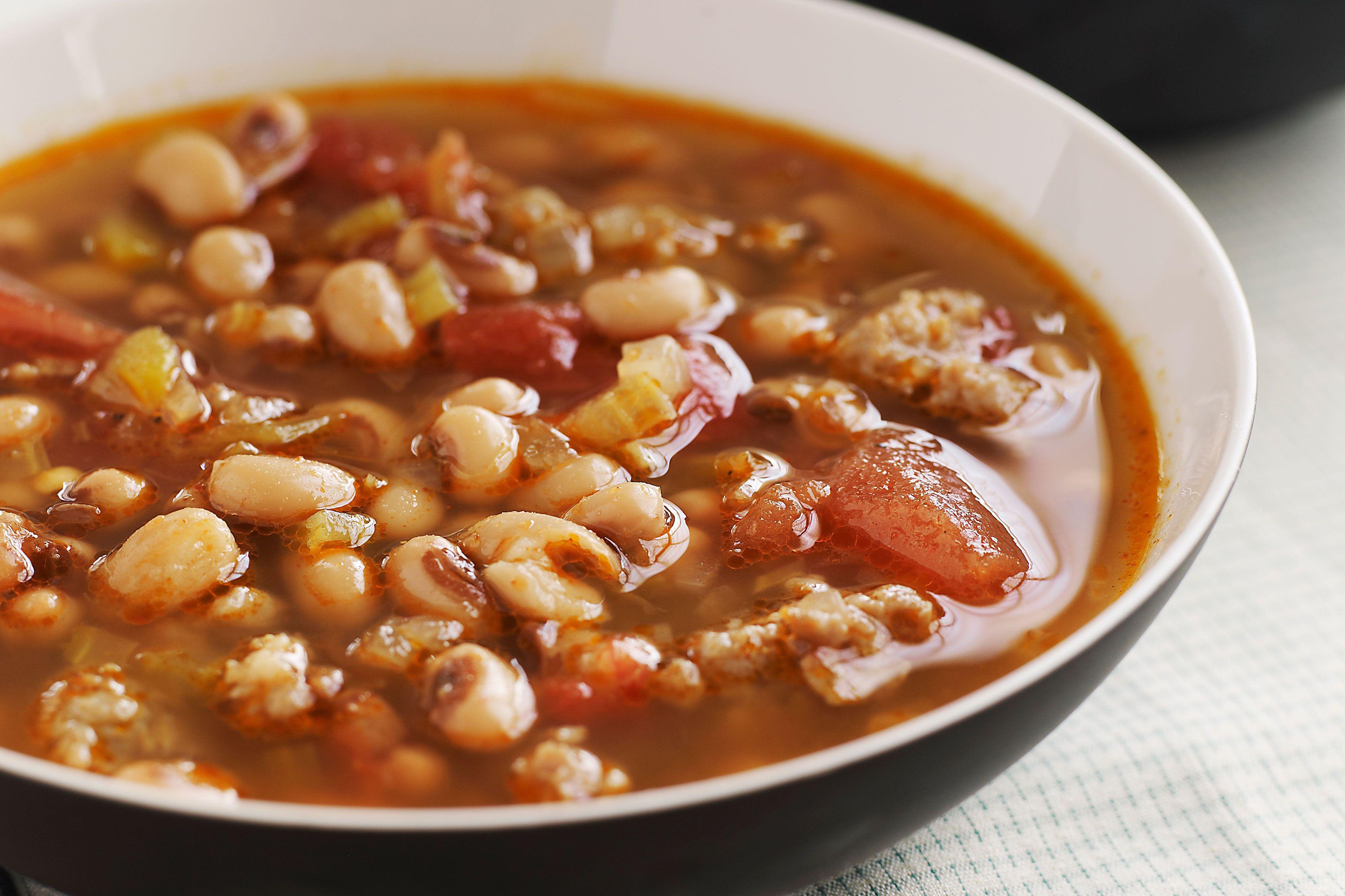 Black Eyed Peas Recipe No Meat