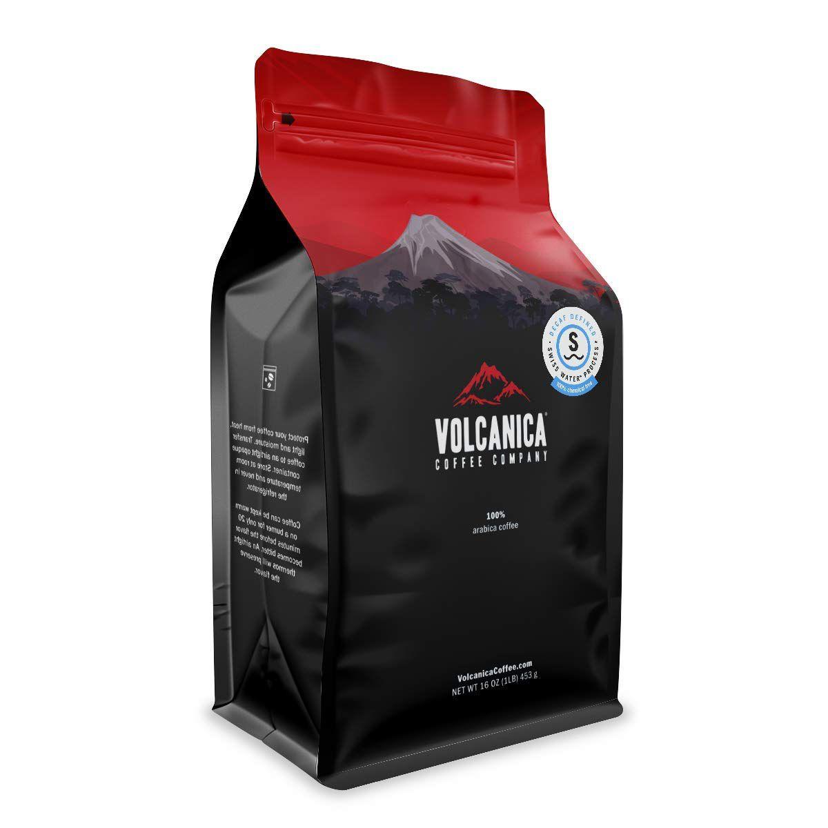 Volcanica Coffee Company House Decaf Coffee