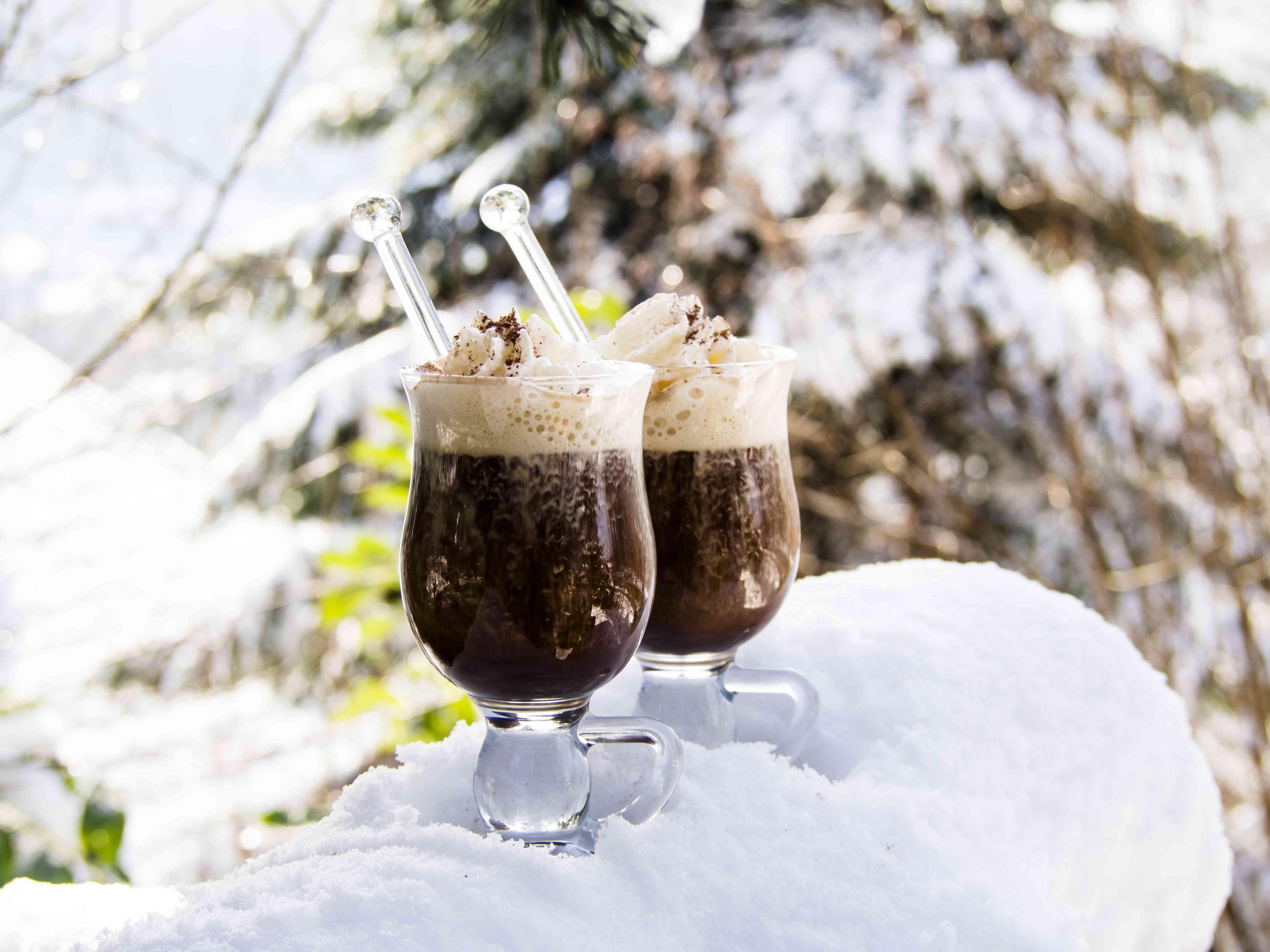German Coffee With Rum - Pharisaeer Kaffee