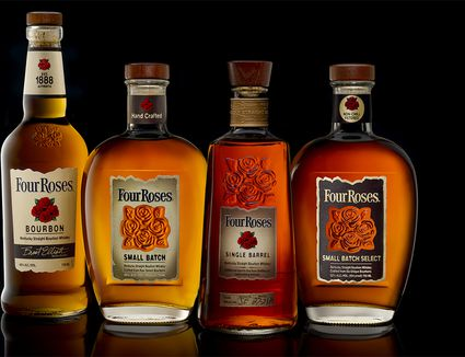 Four Roses Bourbon Whiskey Portfolio