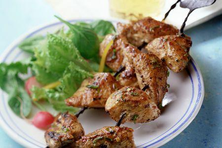 Reshmi Kabab Recipe With Marinated Chicken