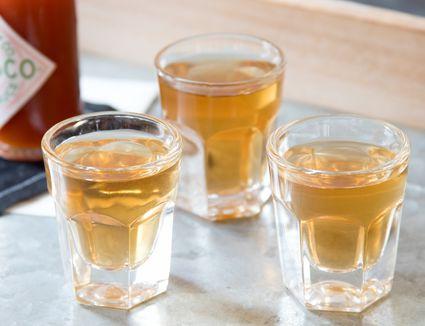 Fireball Rum and Tabasco Shot