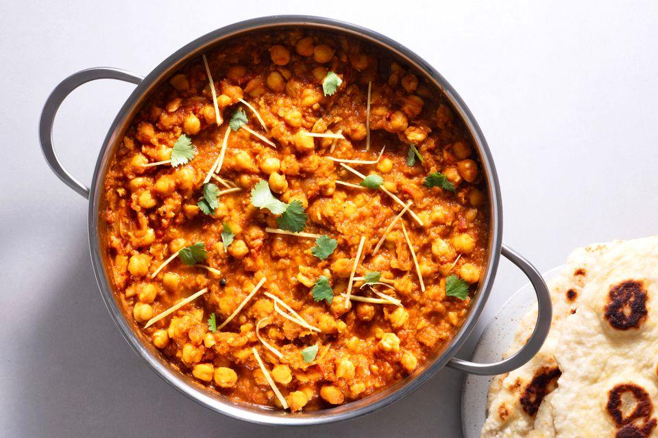 Punjabi-Style Chole Chickpea Curry