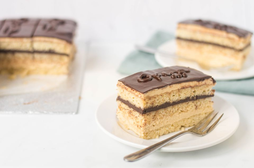 French Opera Cake