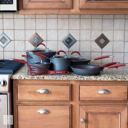 Rachael Ray Cucina Hard-Anodized Nonstick Cookware Set