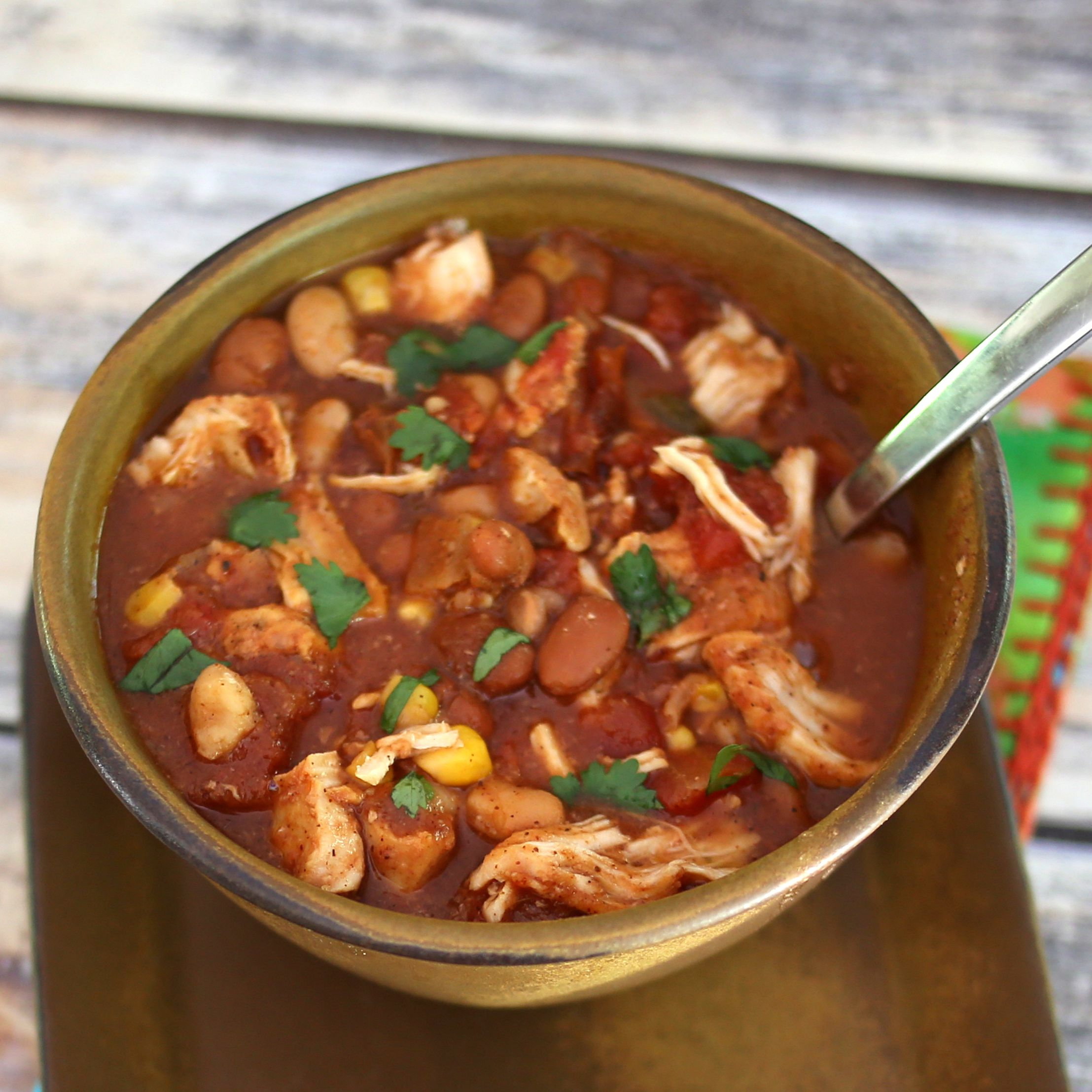 Quick and Easy Chicken Chili Stew