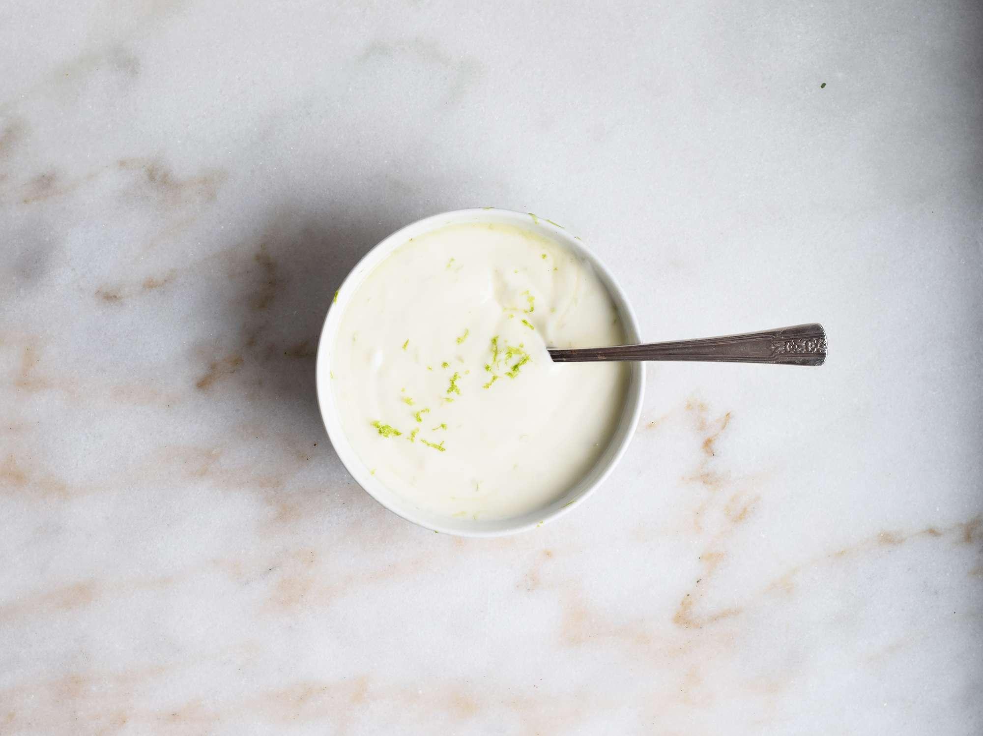 yogurt lime dip