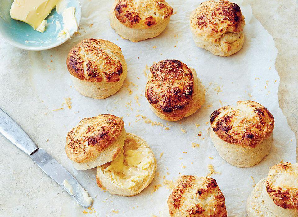 Parmesan Buttermilk Scones