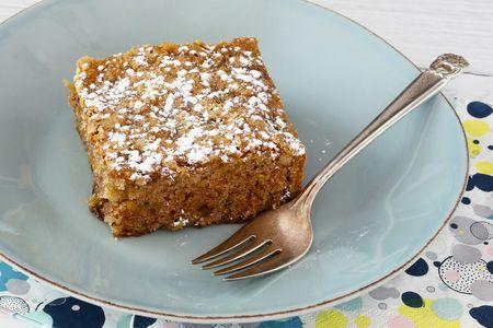 Easy One Layer Zucchini Cake Recipe