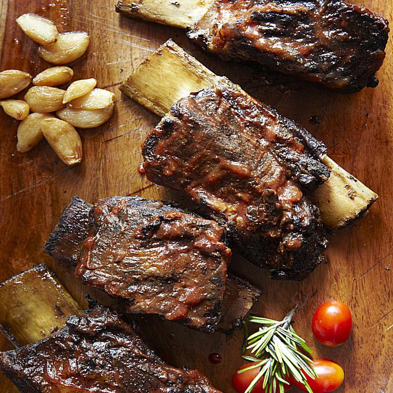 Barbecued Beef Short Ribs Recipe