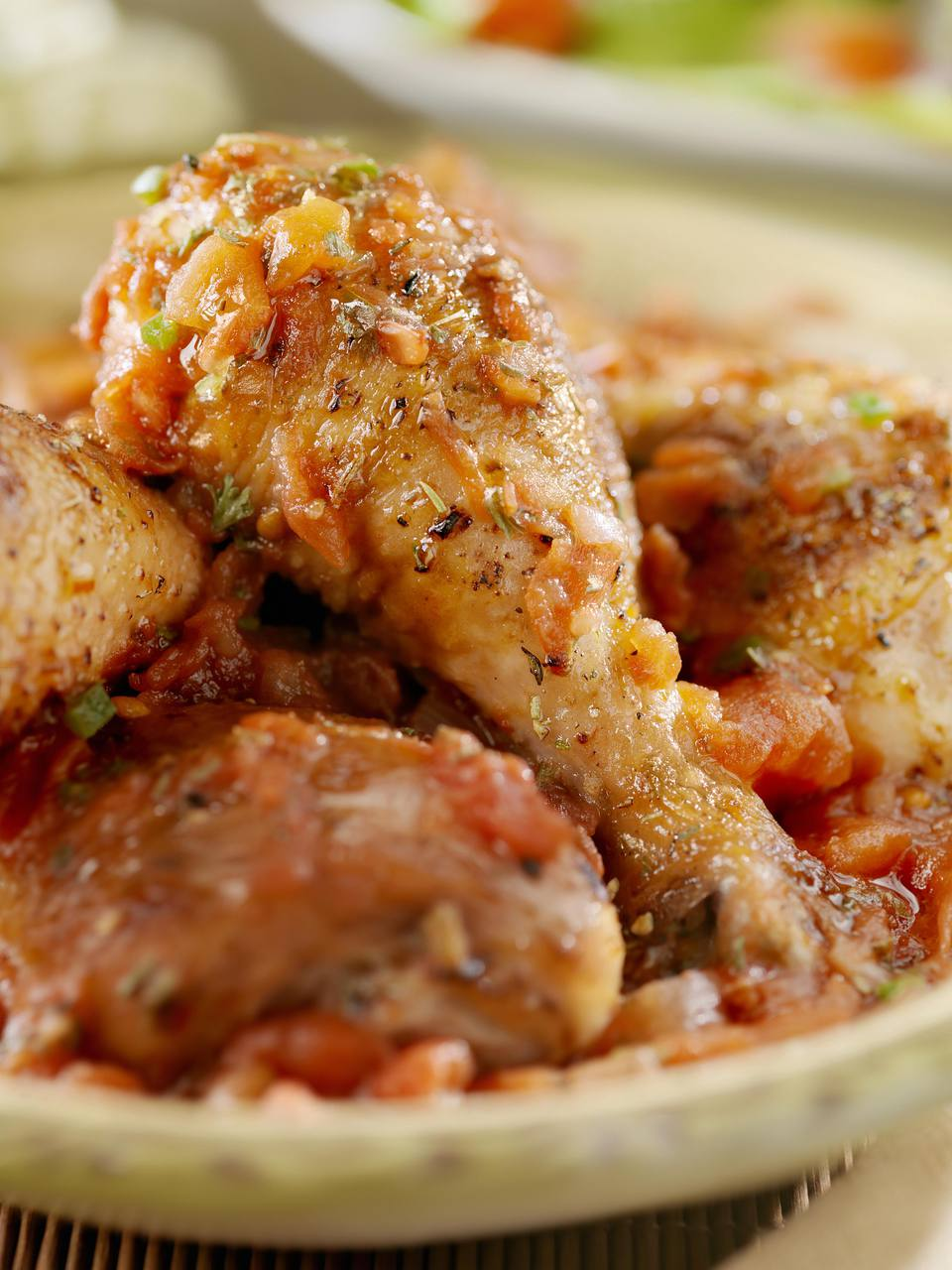 Chicken Drumsticks Cacciatore