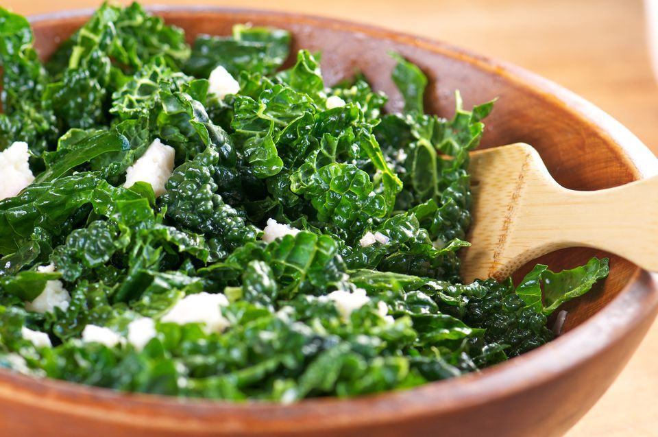 Kale Salad (With Variations)