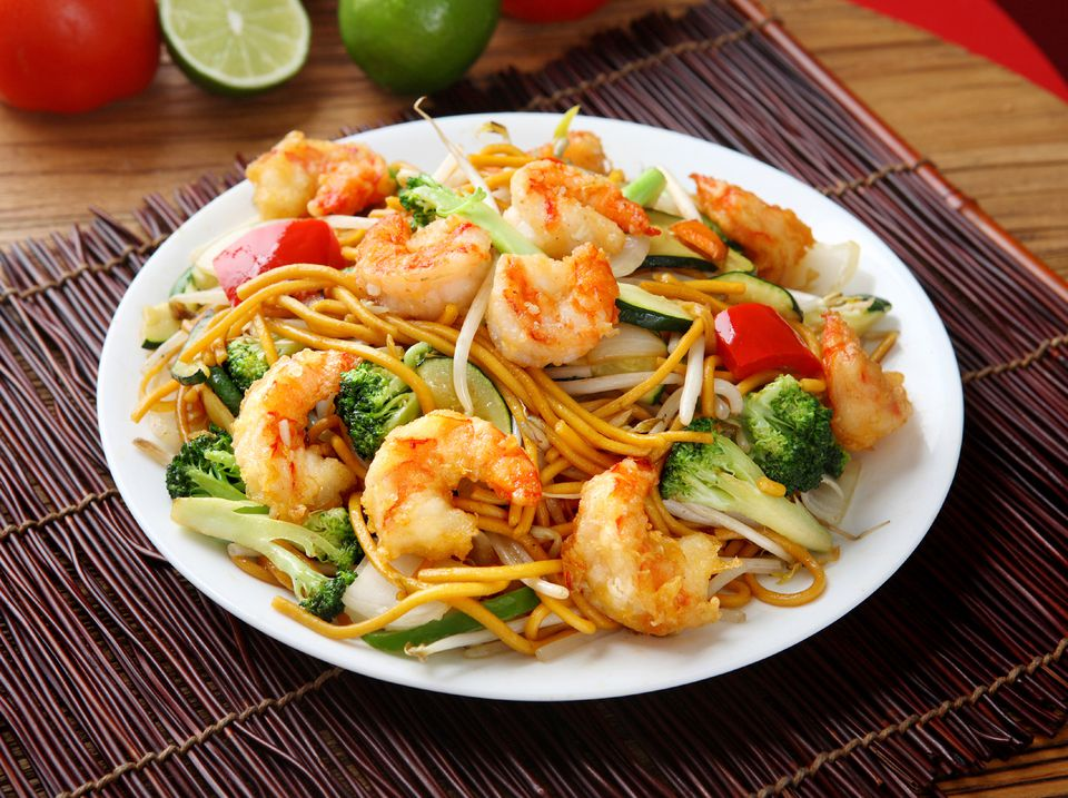 Shrimp and garlic noodles recipe for two shrimp chow mein forumfinder Gallery
