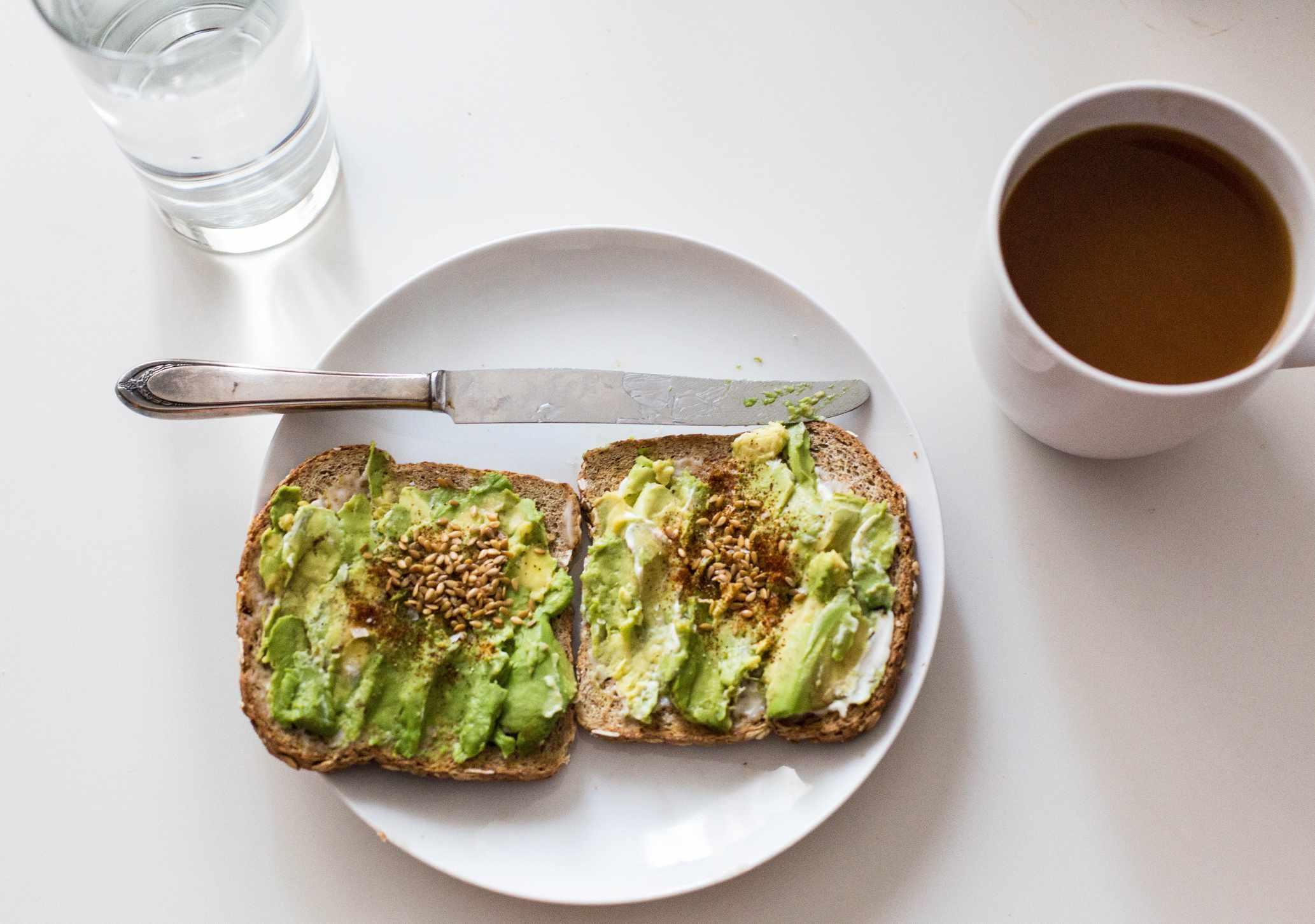 Flaxseed toast