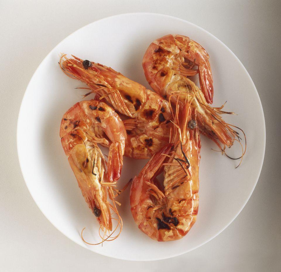 Spanish Grilled Shrimp Tapas