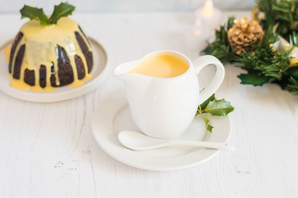 Christmas Spiced Custard Sauce Recipe