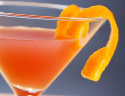 Skyy Vodka's Campari Cosmo Cocktail