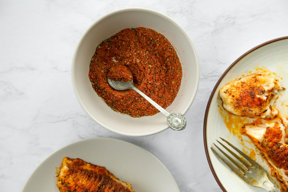 Cajun Blackened Fish Seasoning