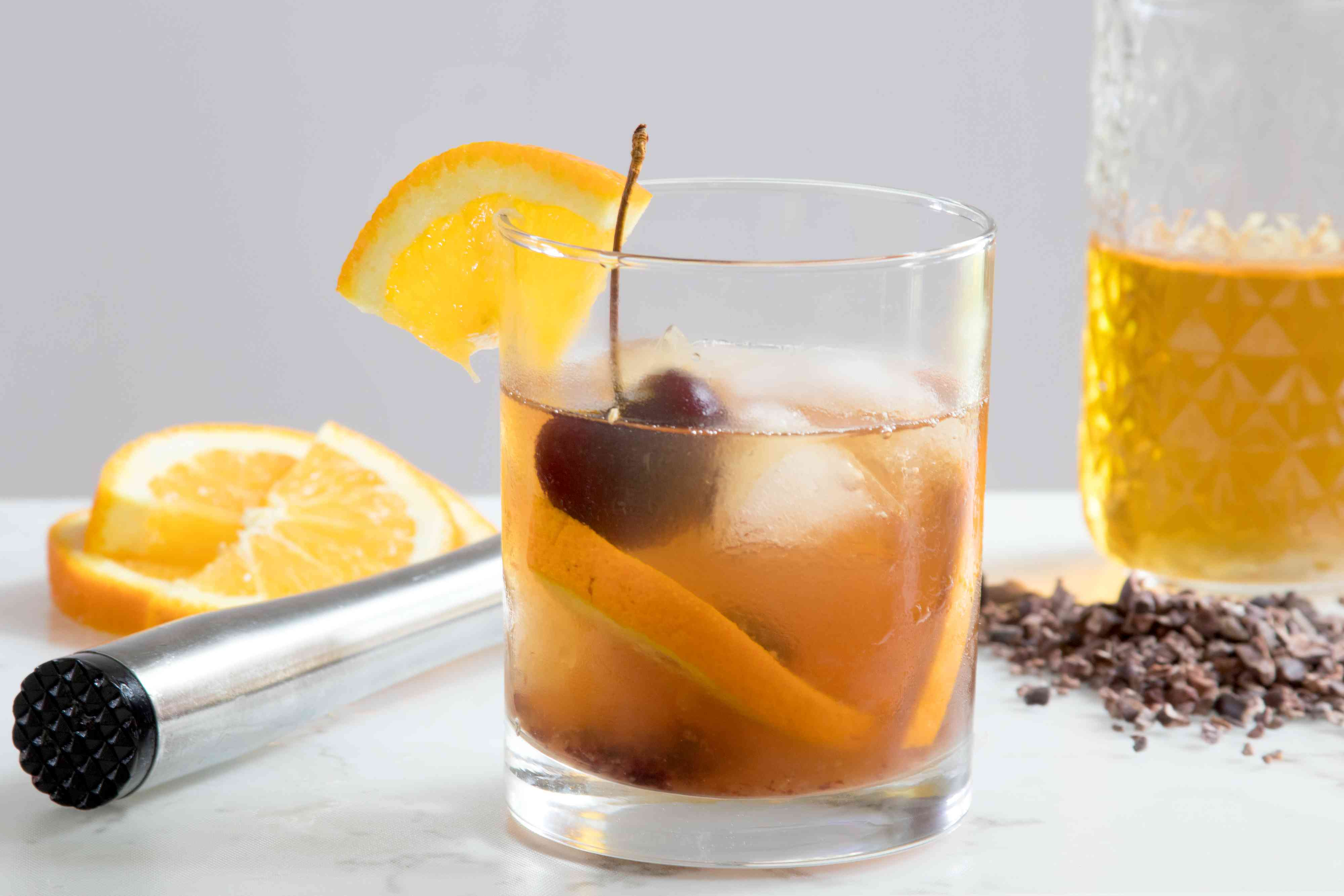 Cocoa Old-Fashioned Recipe With Cocoa-Infused Rye Whiskey