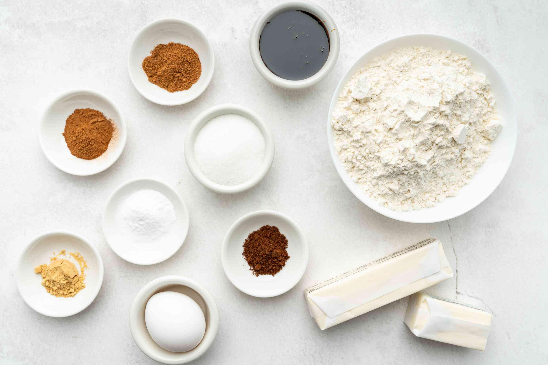 Gingersnap Cookies ingredients
