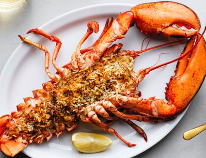 Easy and Elegant Baked Stuffed Lobster