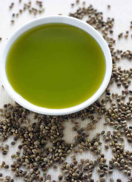 Hemp Seed Oil Vinaigrette Salad Dressing