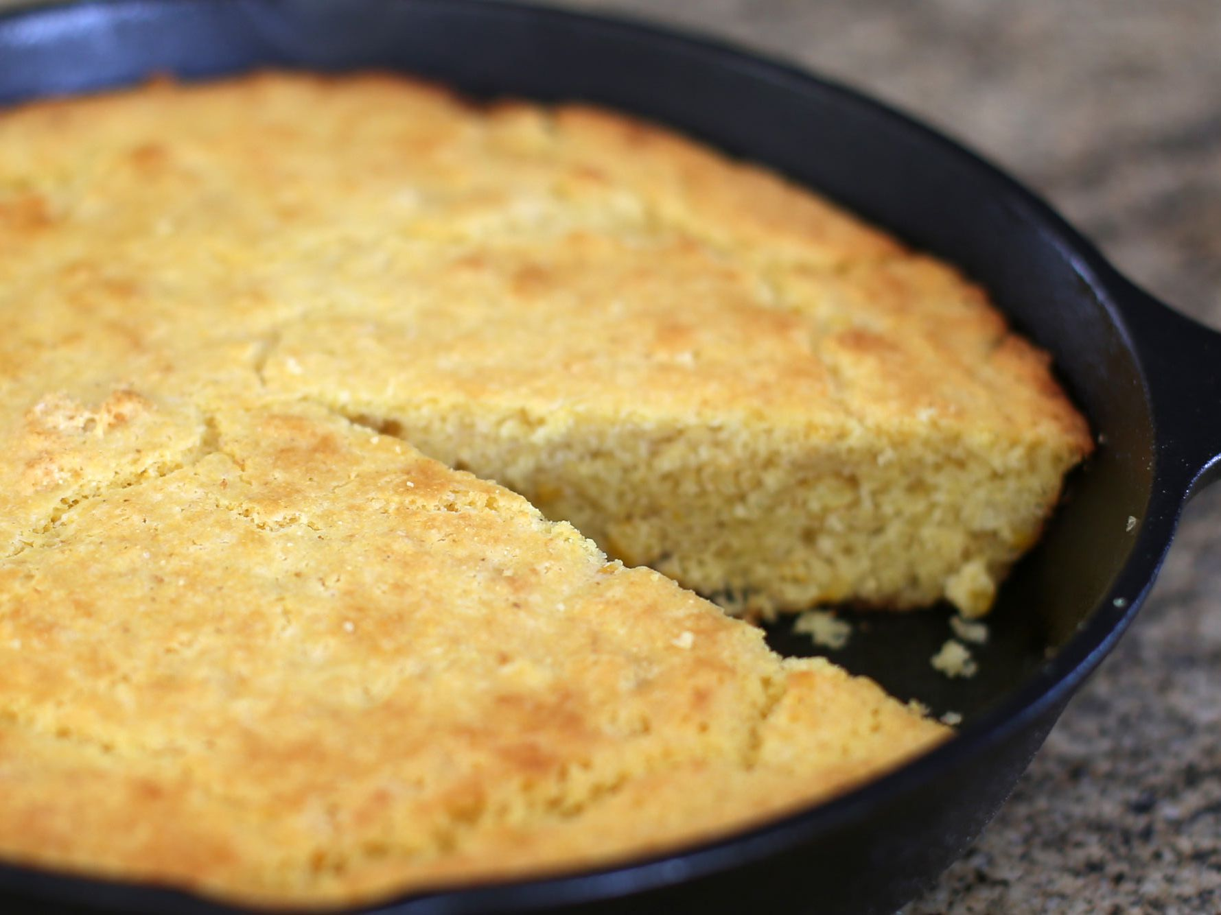 Homemade Self-Rising Cornmeal Mix for Cornbread Recipe