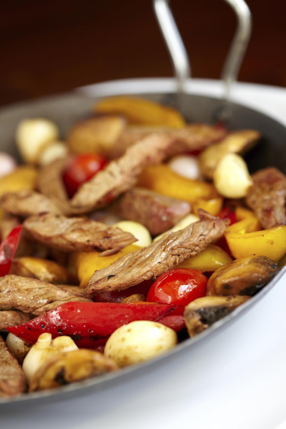 Sweet Sour Steak Stir Fry