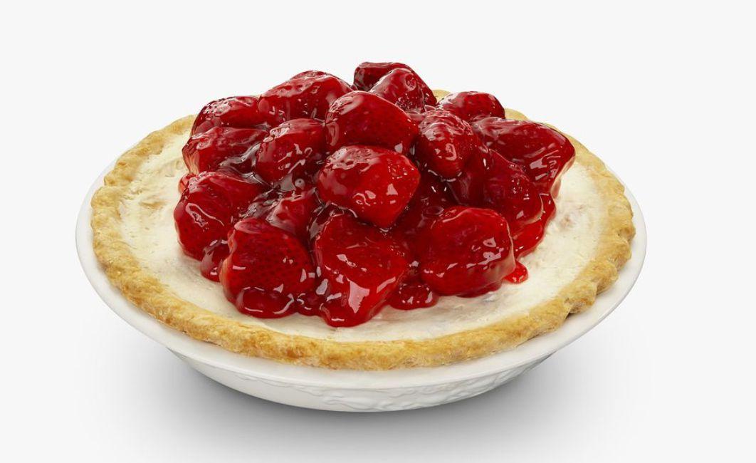 Fresh Strawberry Cream Cheese Pie