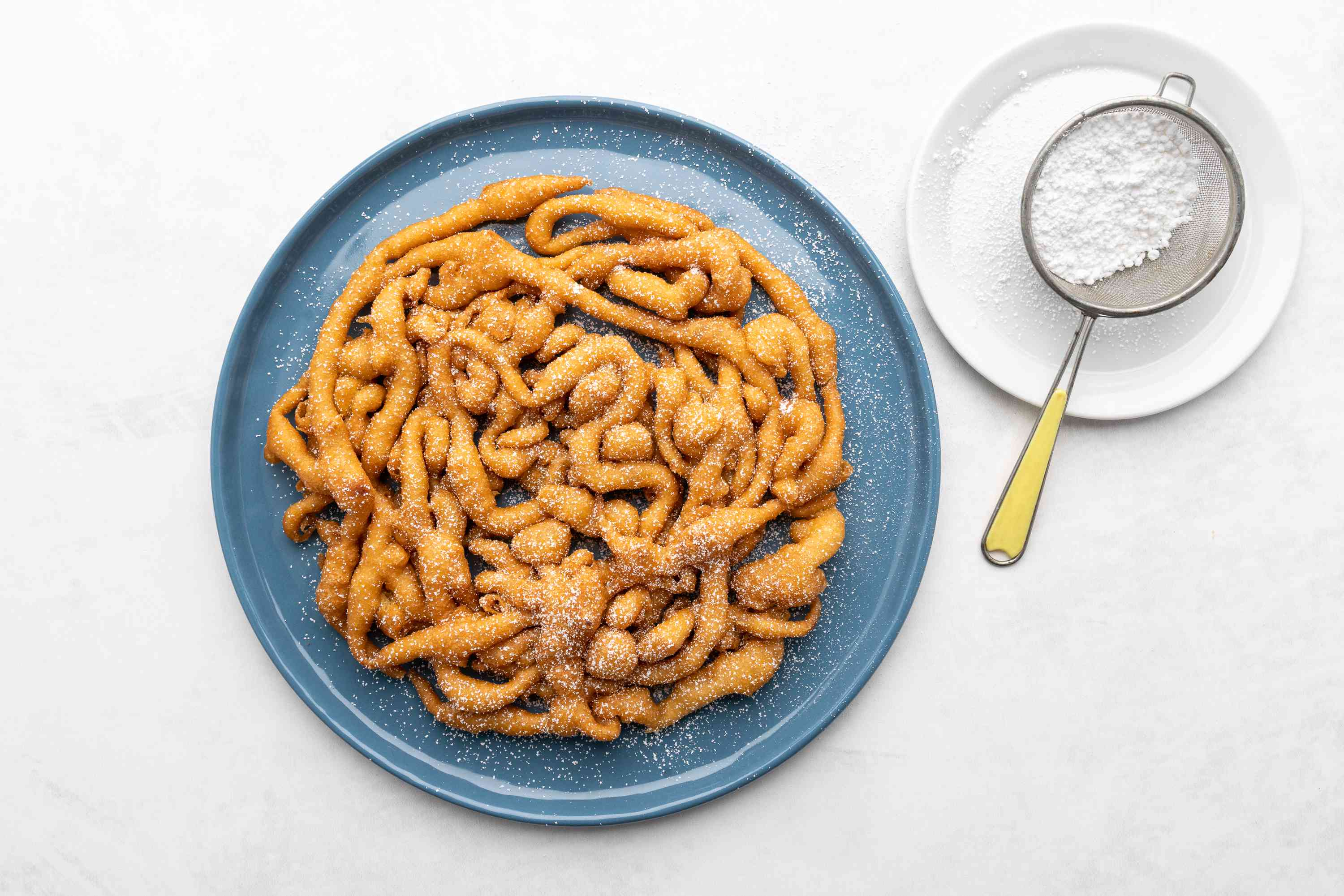 Funnel Cake with Pancake Mix