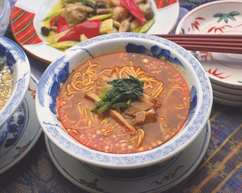 Szechuan Chinese Noodle