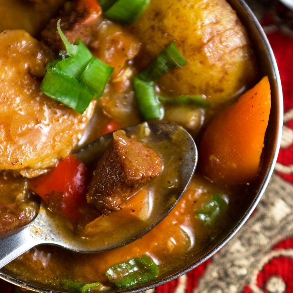 Baharat Spiced Beef Stew