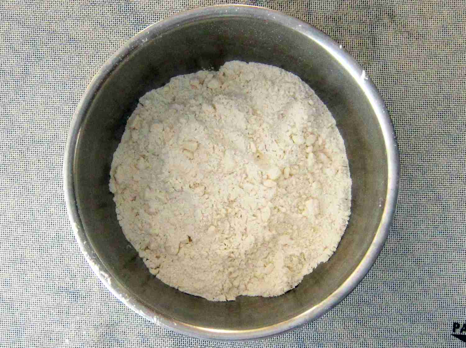Pie Pastry Butter and Flour Mixture
