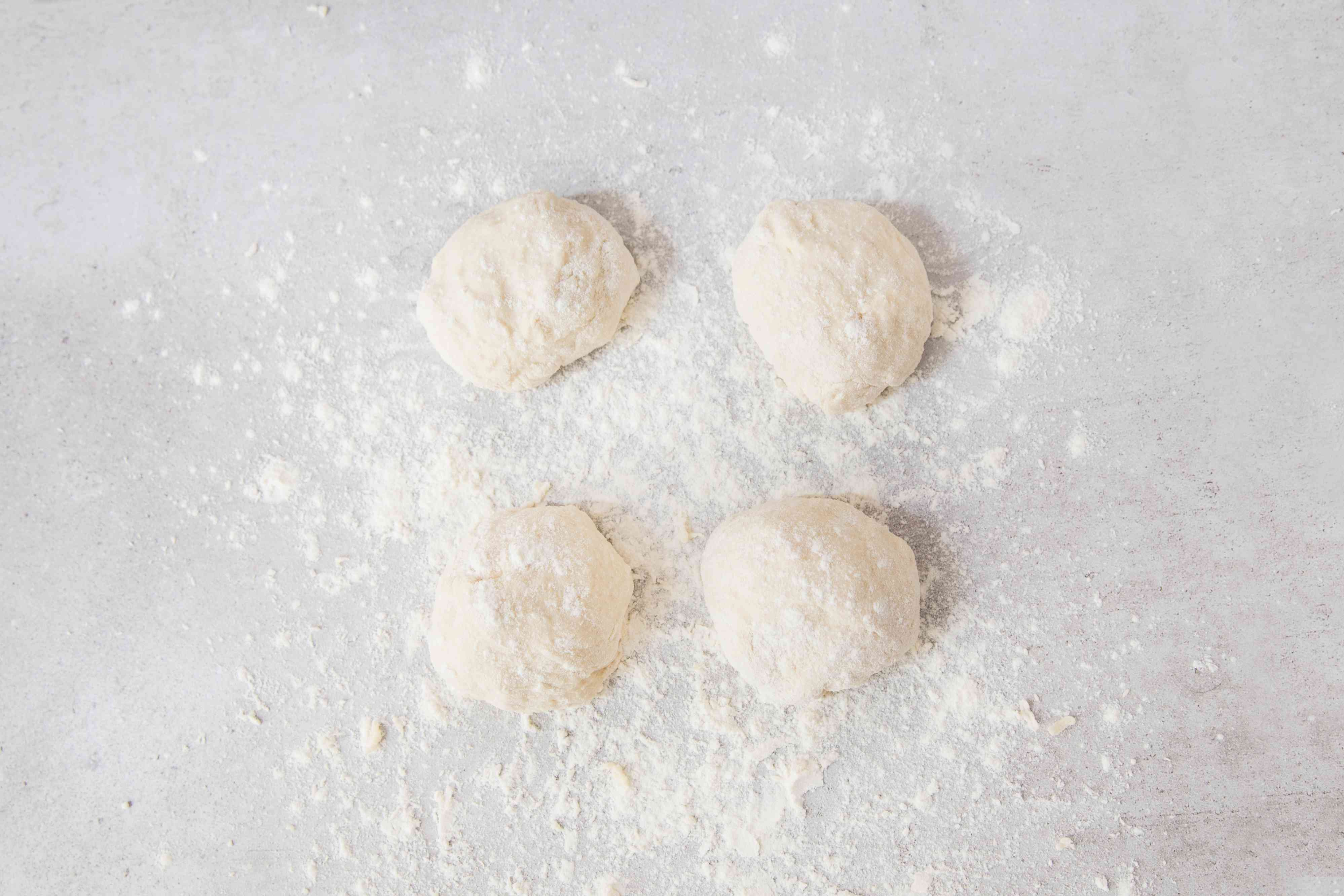 Divide dough