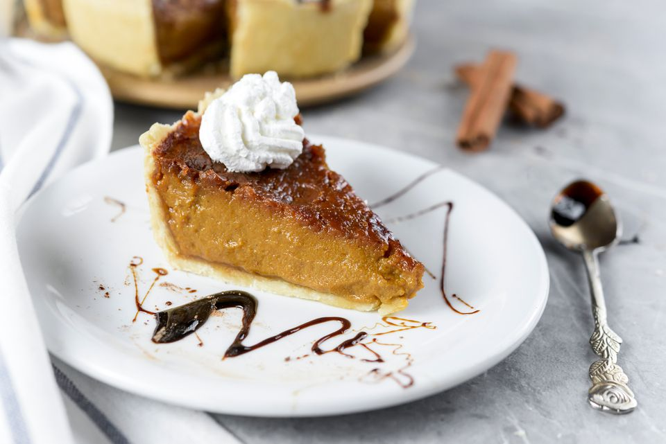 Easy vegan pumpkin pie