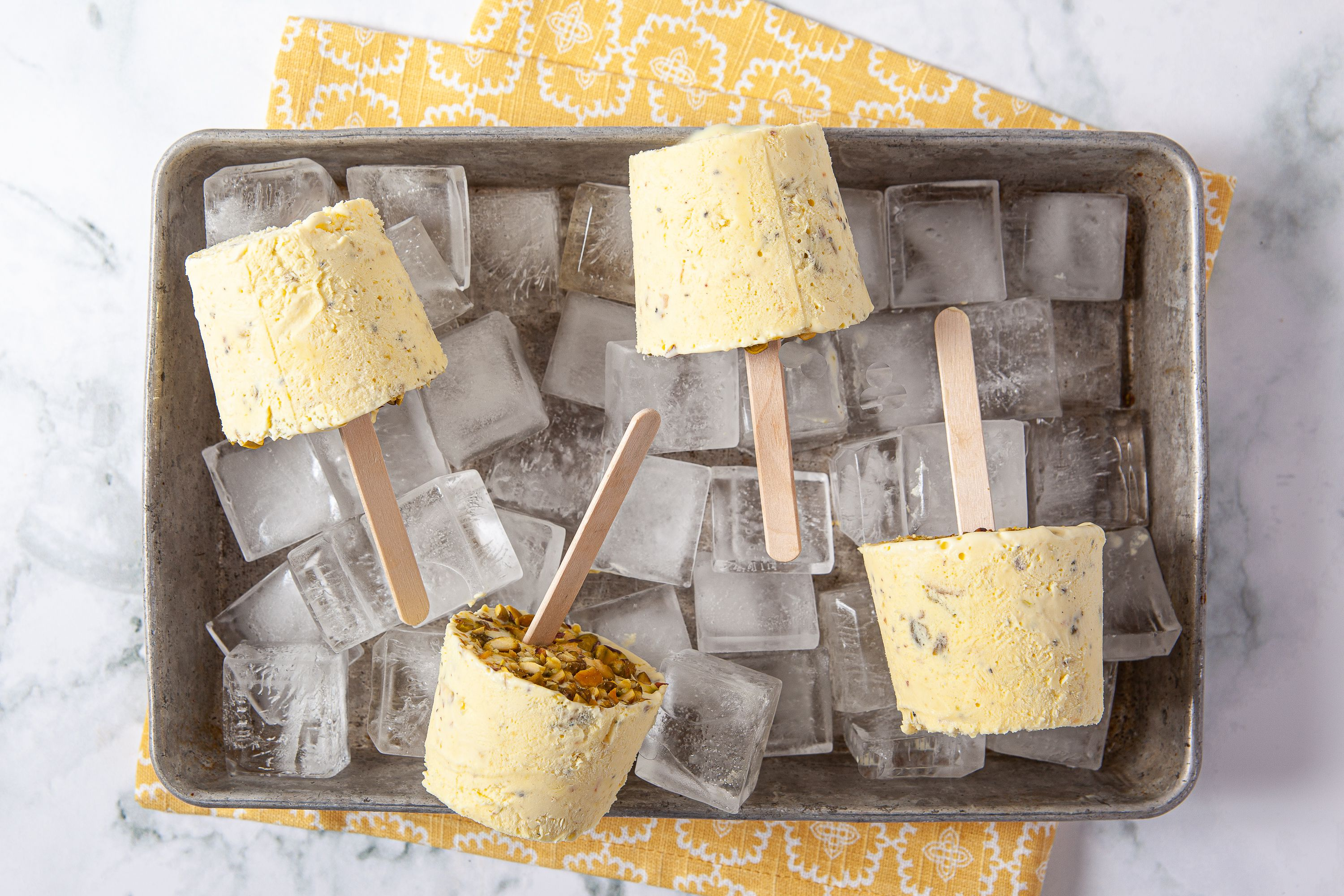 This Creamy Pistachio-Studded Kulfi Is a Delicious Summertime Treat