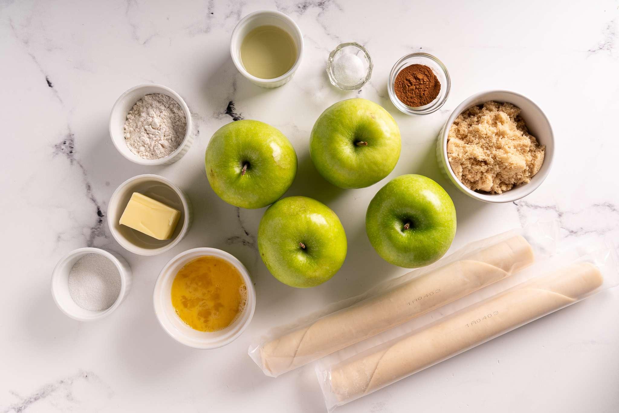 Copycat McDonald's Apple Pie ingredients