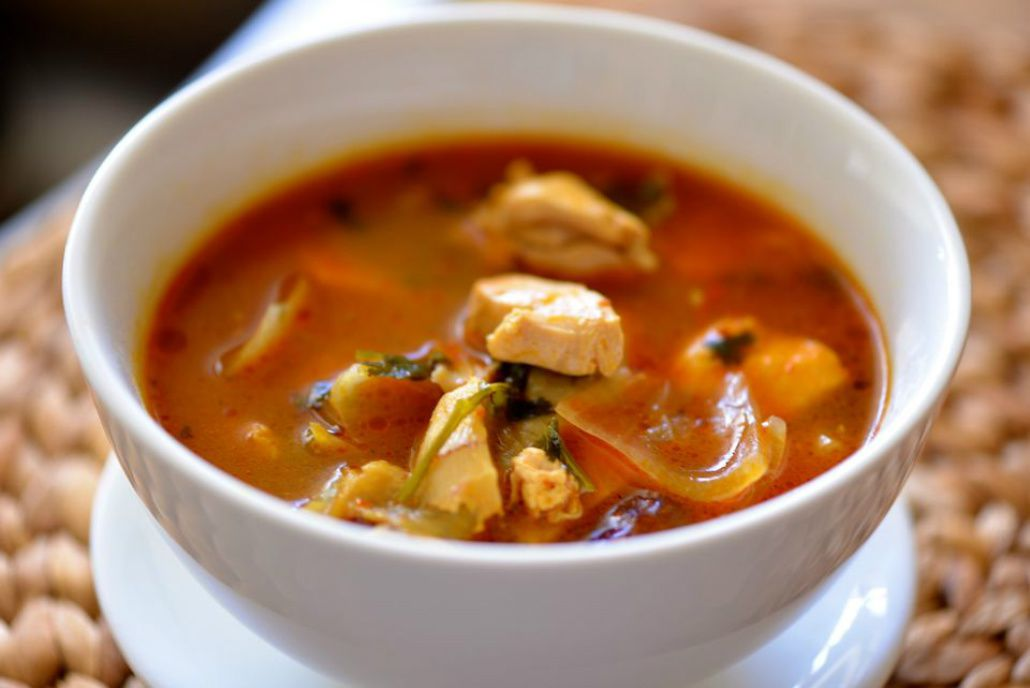 Spicy Crock Pot Chicken Soup With Vegetables