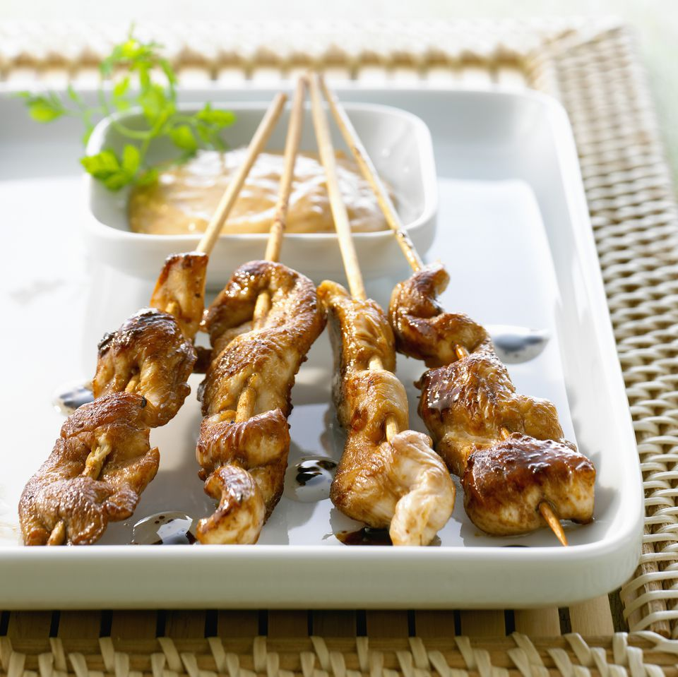 Spice up your christmas with thai recipes satay party sticks forumfinder Images