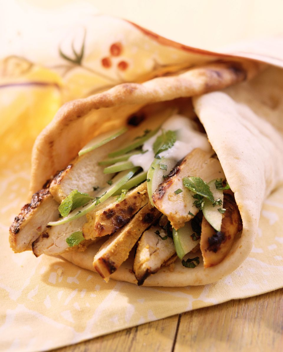 Quick and Easy Grilled Chicken Gyros